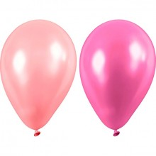 Lyserøde Balloner 10-pak