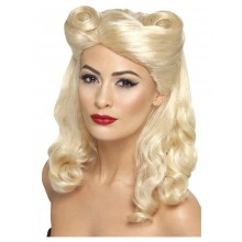 40- tals peruk pin up blond