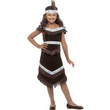 Indianerpige Kostume Barn