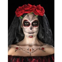 Day of the Dead Ansigtstatoveringer