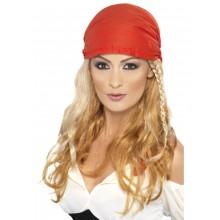 Paryk Med Bandana Pirat Blond