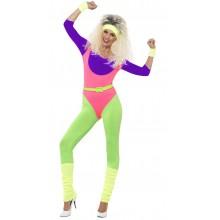 80'erne Træningssæt Kostume