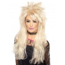 80'er Paryk Lang Blond