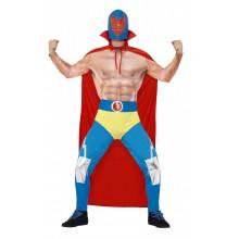 Mexicansk Wrestler Kostume