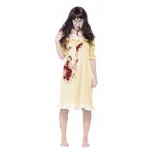 Zombie i Nattøj Kostume