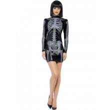 FEVER MISS WHIPLASH SKELETKOSTUME