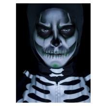 Selvlysende Skelet Make Up SÆT