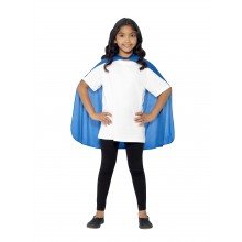 Blå Kappe Børnestørrelse