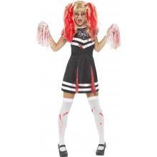 Djævelsk Cheerleader Kostume
