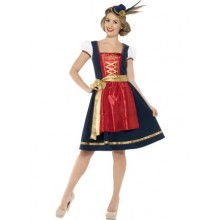 Traditionelt Bayersk Oktoberfest Claudia-Kostume Deluxe