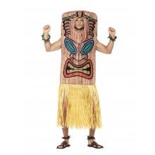 Totempæl Tiki Kostume