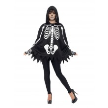 Skeletsæt Kostume