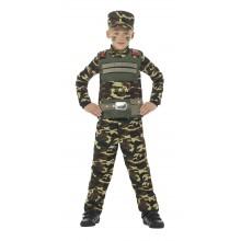 Soldat Børnekostume