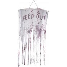 Keep Out Blodig Hængende Dekoration