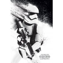 Star Wars The Force Awakens Stormtrooper Plakat
