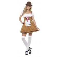 Ølpige Kjole Kostume Oktoberfesten