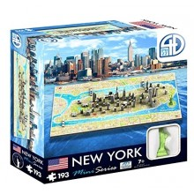 Bypuslespil 4D Mini New York