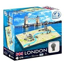 Bypuslespil 4D Mini London