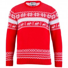 Juletrøje Nordic Christmas Rød