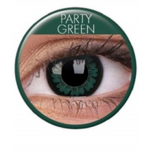 Farvede linser big eyes party green