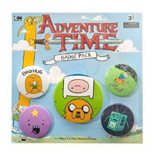 Adventure Time Badges 5 Stk.