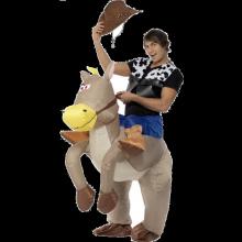 RIDE 'EM COWBOY - KOSTUME