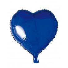 Folieballon Hjerte Blå