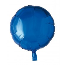 Folieballon Rund Blå