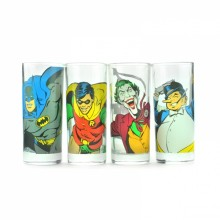 Batman Glas 4-pak