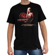 GoT Mother of Dragons T-shirt Sort