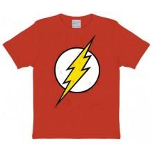 The Flash Logo T-shirt Børn Rød