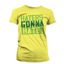 Spongebob Haters Gonna Hate Dame T-shirt
