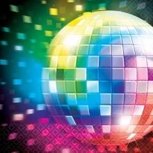Servietter Disco 70'Erne