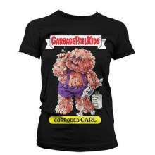 Garbage Pail Kids Corroded Carl Girly T-shirt