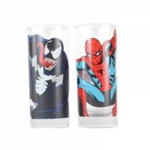 Marvel Glas Spiderman & Venom 2-pak