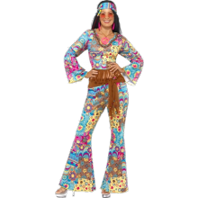 FLOWER POWER - HIPPIEKOSTUME