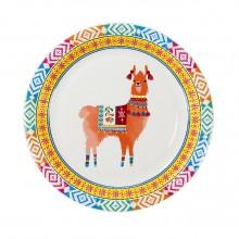 Tallerkener Boho Lama 8-pak