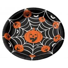 Tallerkener Halloween 8-pak