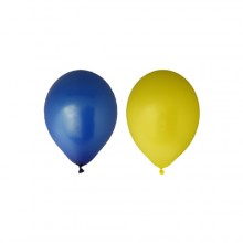 Balloner Gul/Blå 12-pak