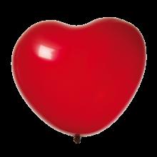 Hjärtballonger Röda 8-pack