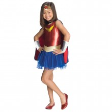 WONDER WOMAN BØRNEKOSTUME