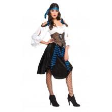 Piratkostume Rum Runner Lady