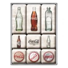 Magnetsæt Coca-Cola Retro