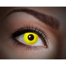Farvede linser UV Flash Yellow