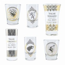 Game Of Thrones Shotglas Premium 6-pak