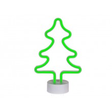 Neonlys Juletræ