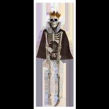 Dekoration Skelet Krigerkonge