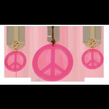 Smykker Pink Peacetegn