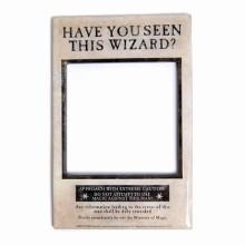 Harry Potter Fotoramme Med Magnet Wizard