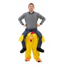 Ridende Kylling Kostume